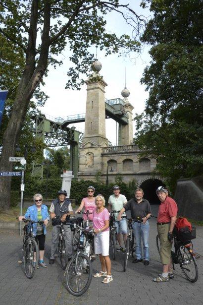 Fahrradtour zur Schleuse Flaesheim