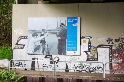 Ausstellung ZEITFENSTER - Brücken als Zeitfenster in die Geschichte des 100-jährigen Kanals