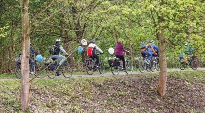 KanalErwachen 2019: ADFC Radtour ab Bochum zur Schiffsparade