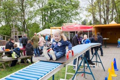 Spielplatzfest im LWL-Industriemuseum Schiffshebewerk Henrichenburg