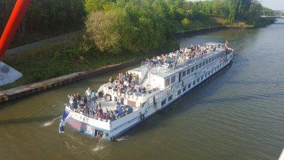 6. Schiffparade KulturKanal: auf dem Pirat ab Gelsenkirchen