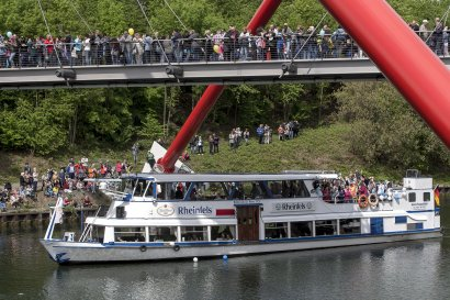 KanalErwachen 2018 mit 5. Schiffsparade KulturKanal