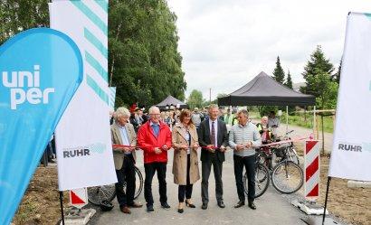 """Eröffnung des neuen Radwegabschnitts """"König-Ludwig-Trasse"""""""