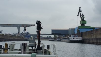 Hafenrundfahrt Vorsaison 2 mit der Weissen Flotte Duisburg