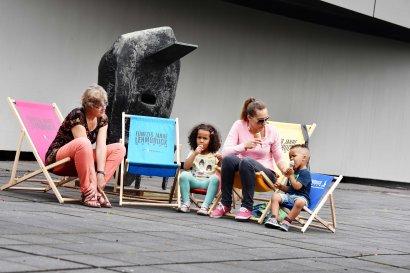"Das Sommerfest ""Sparda-Tag"" im Lehmbruck Museum"