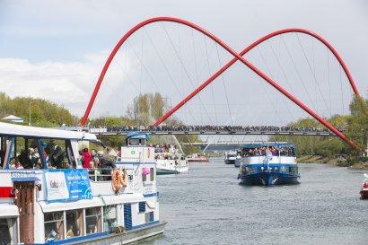 abgesagt_7. Schiffsparade KulturKanal 2020: Kulturschiff Herne / Mitfahrt MS Baldeney ab Herne und Gelsenkirchen