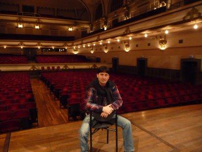 Konzert in der Schifferkirche mit Andres Grandoni, Akkordeon solo