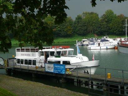 Anleger LWL-Industriemuseum Schiffshebewerk Henrichenburg / Unterwasser