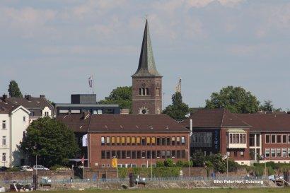 Neuer Hafenstadtteil-Flyer für Duisburg Ruhrort