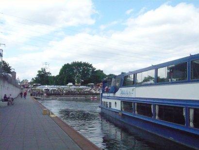 Anleger am Stadthafen Recklinghausen Darstellung 2