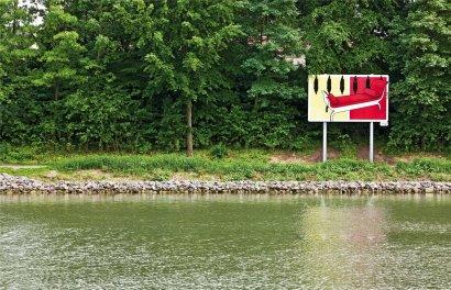 Bilder am Kanal - Ein künstlerisches Leitsystem - 05/15