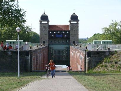 Alte Schachtschleuse Henrichenburg Darstellung 2