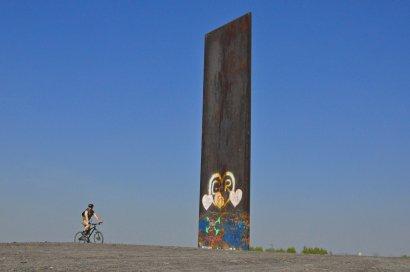 Bramme für das Ruhrgebiet (Richard Serra, 1989)