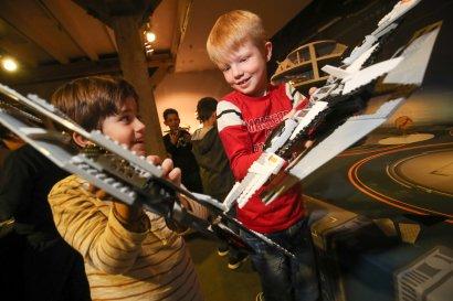 Galaktisches Bau- und Spielerlebnis im EXPLORADO Kindermuseum