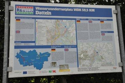 Wasserwanderrastplatz Dattelner Meer Darstellung 4