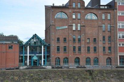 """Sonderausstellung """"Über Wasser Unter"""" im Binnenschifffahrtsmuseum Duisburg"""