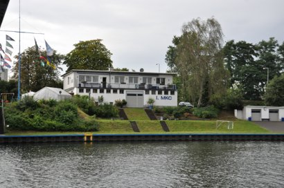 Paddeleinstieg 1. Meidericher Kanu-Club 1921 e.V. Duisburg