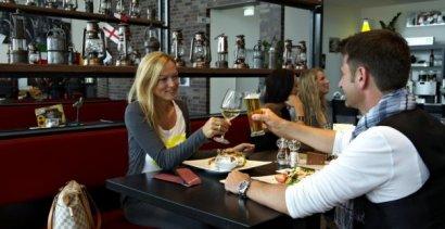 """Café & Bistro """"Zum Flöz"""" im AQUApark Oberhausen"""