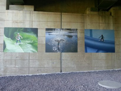 Emscher-Galerie / Weidende Schafe Darstellung 5