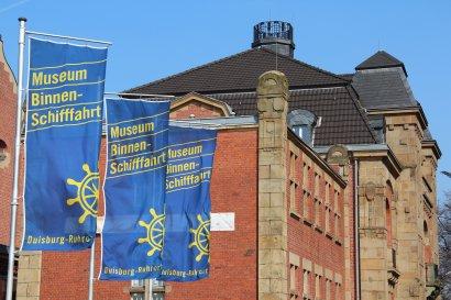 Kielgeholt die Erste - Wollfest im Museum der Deutschen Binnenschifffahrt in Duisburg