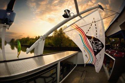 Kulturschiff Herne: Kinder am Kanal