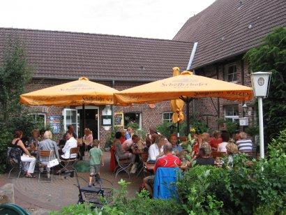 Biergarten und Gaststätte Landgasthaus Klaukenhof