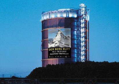 Gasometer Oberhausen - Der Berg ruft
