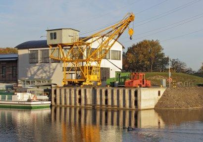 Tagung des Museumsnetzwerks im Schiffshebewerk Henrichenburg