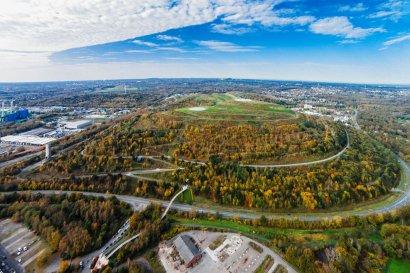 Pütt & Panorama die BergWerks-Tour, Zeche Ewald und Halde Hoheward