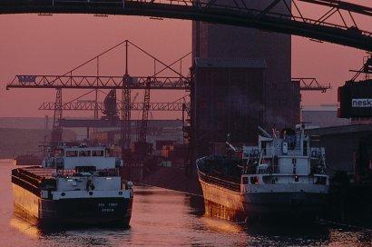 Die letzten Hafenrundfahrten in Duisburg 2017