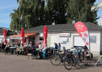 Kilometer 21 - Kiosk am Kanal