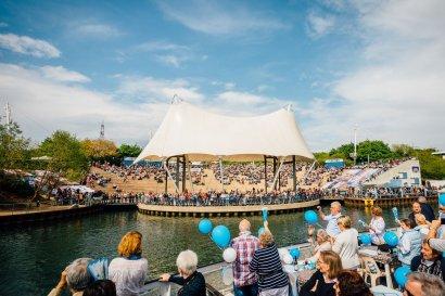 6. Schiffsparade KulturKanal 2019 Darstellung 20