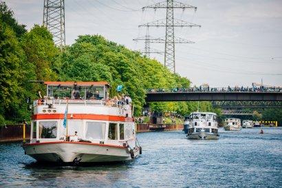 6. Schiffsparade KulturKanal 2019 Darstellung 25