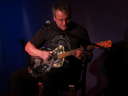 Blues-Konzert mit Wolfgang Kalb im LWL-Industriemuseum Schiffshebewerk Henrichenburg