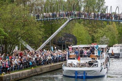 Schiffsparade KulturKanal 2017, Abschlussfest im Kaisergarten Oberhausen