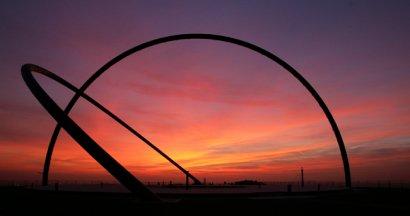 Tag- und Nachtgleiche auf der Halde Hohward nahe des KulturKanals erleben