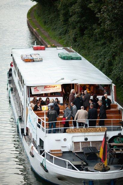 Kulturschiff Gelsenkirchen: GEjazzt auf dem KulturKanal