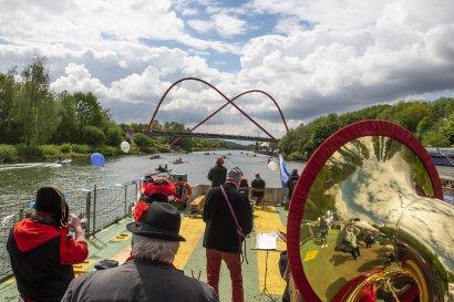 KanalErwachen mit Schiffsparade KulturKanal  Darstellung 2