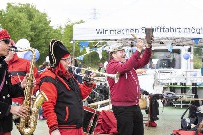KanalErwachen mit Schiffsparade KulturKanal  Darstellung 6