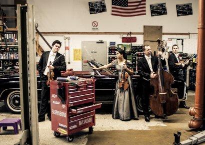Konzert des Mercator-Ensembles im Ruhrorter Hafen