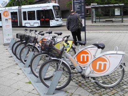 Metropolradstation Buschhausen Mitte