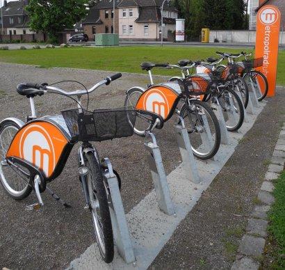 Metropolradstation Auf der Wenge / Sankt-Jörgen-Platz Darstellung 2