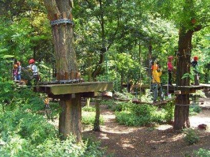 Tree2Tree Hochseilgarten Oberhausen Darstellung 4