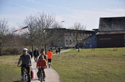 Auch im Winter ein Hingucker: Das Haus Ripshorst Oberhausen