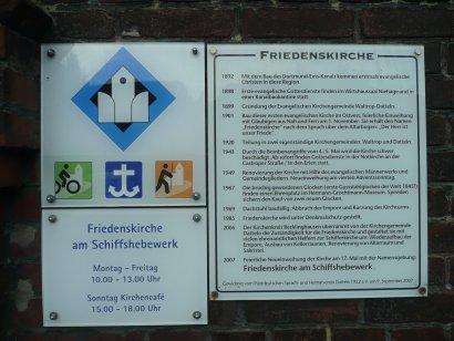 Friedenskirche (Schifferkirche Datteln) Darstellung 2