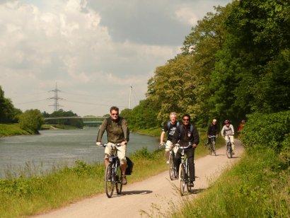 1.200 Kilometer Radwege durchziehen das Ruhrgebiet