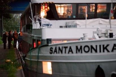 Kaffeeklatsch auf der Santa Monika ab Henrichenburg
