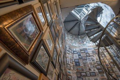 Kollektives Schiffspostkartenmuseum am KulturKanal 2017