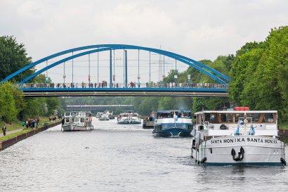 Tages-Kreuzfahrt zum Schiffshebewerk Henrichenburg mit der Santa Monika