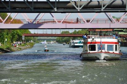 KanalErwachen mit Schiffsparade KulturKanal  Darstellung 19